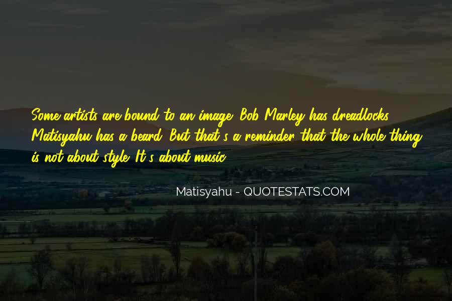 Quotes On Music Bob Marley #328273