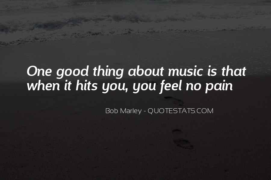 Quotes On Music Bob Marley #524888