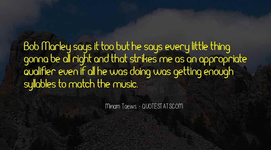 Quotes On Music Bob Marley #575153