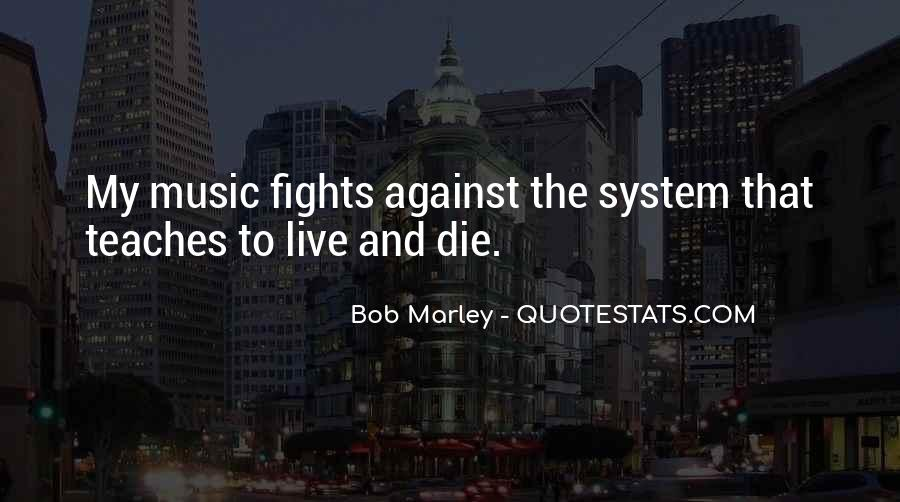 Quotes On Music Bob Marley #845376
