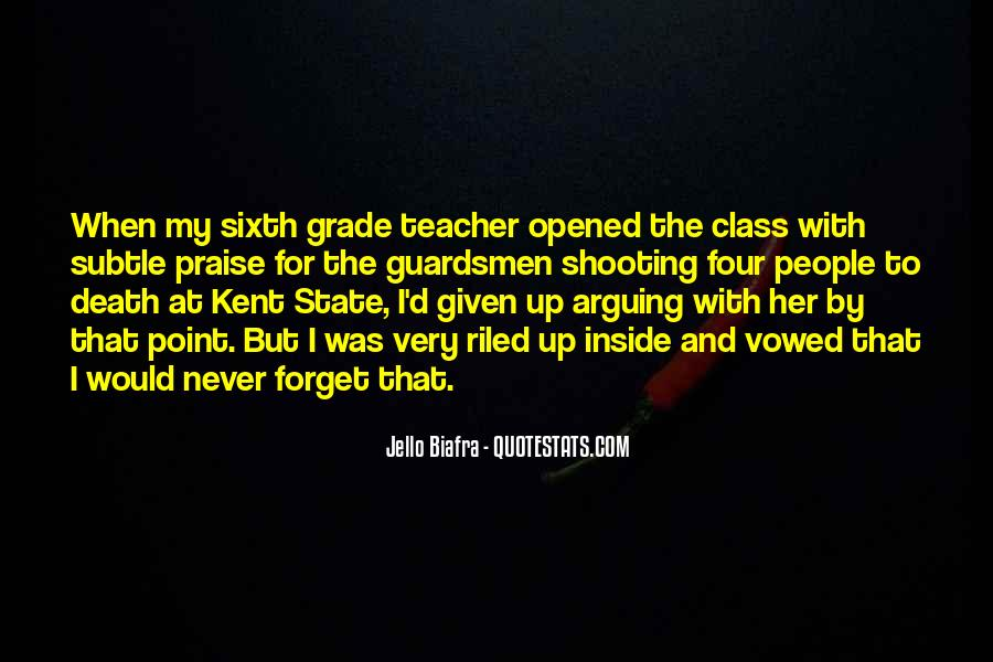 Quotes On My Class Teacher #159984