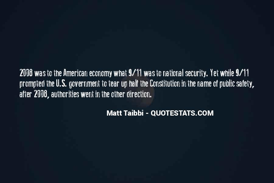 Quotes On National Security After 9/11 #1857361