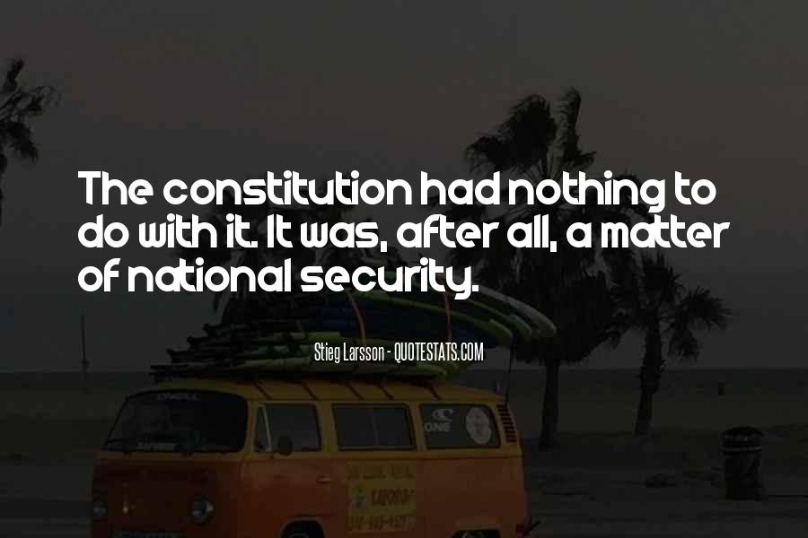 Quotes On National Security After 9/11 #227319