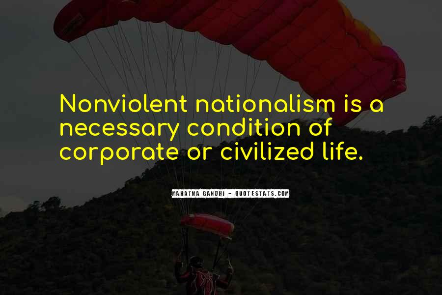 Quotes On Nationalism By Gandhi #1003139