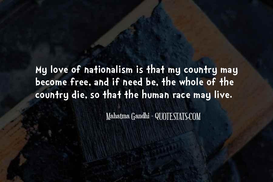 Quotes On Nationalism By Gandhi #1878172
