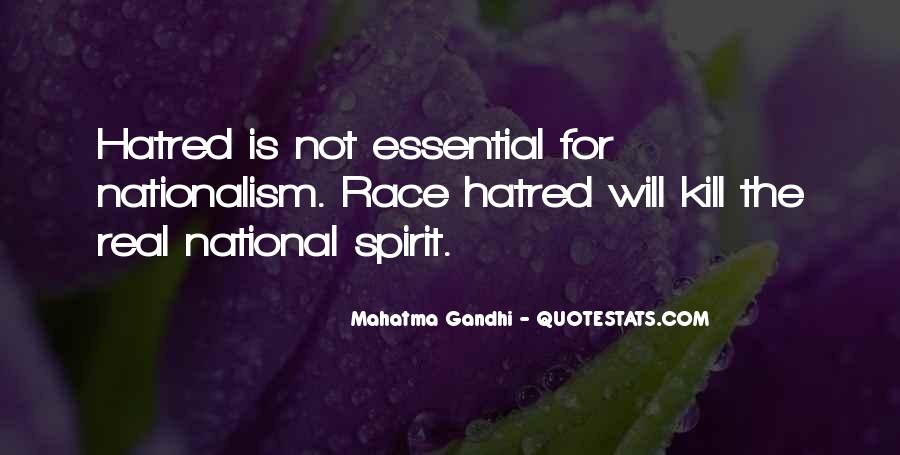 Quotes On Nationalism By Gandhi #32346