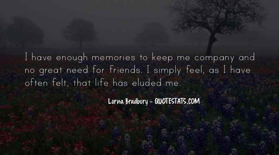 Quotes On Past Memories With Friends #501247