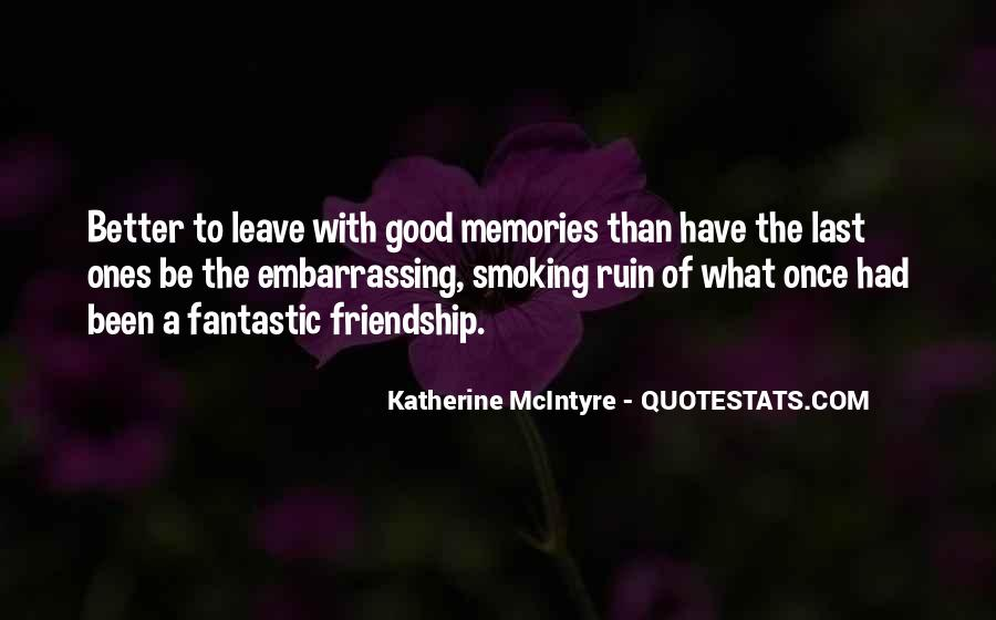 Quotes On Past Memories With Friends #590885