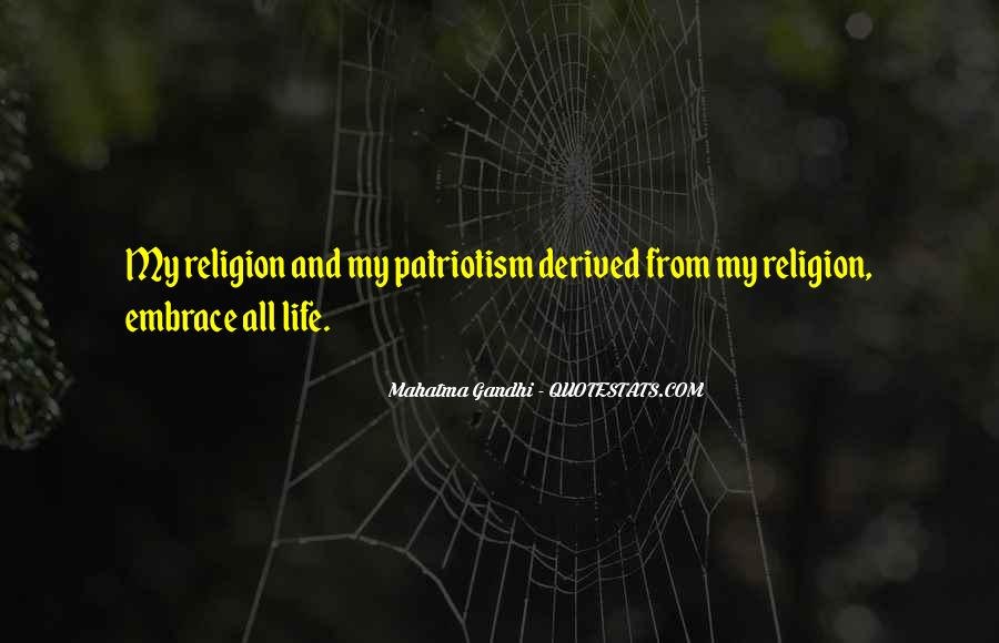 Quotes On Patriotism By Mahatma Gandhi #755944