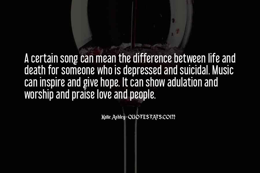 Quotes On Praise And Worship Music #572738