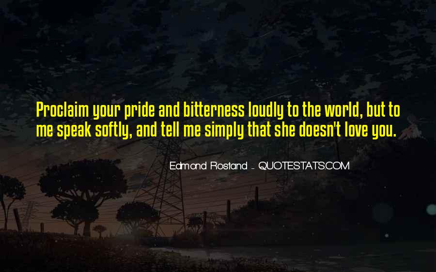 Quotes On Pride In Relationships #1432626