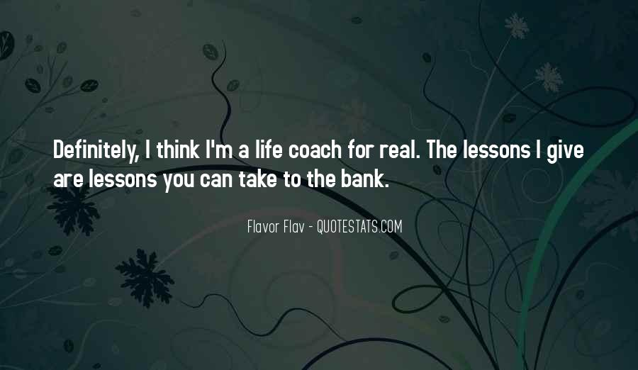 Quotes On Real Life Lessons #1074530