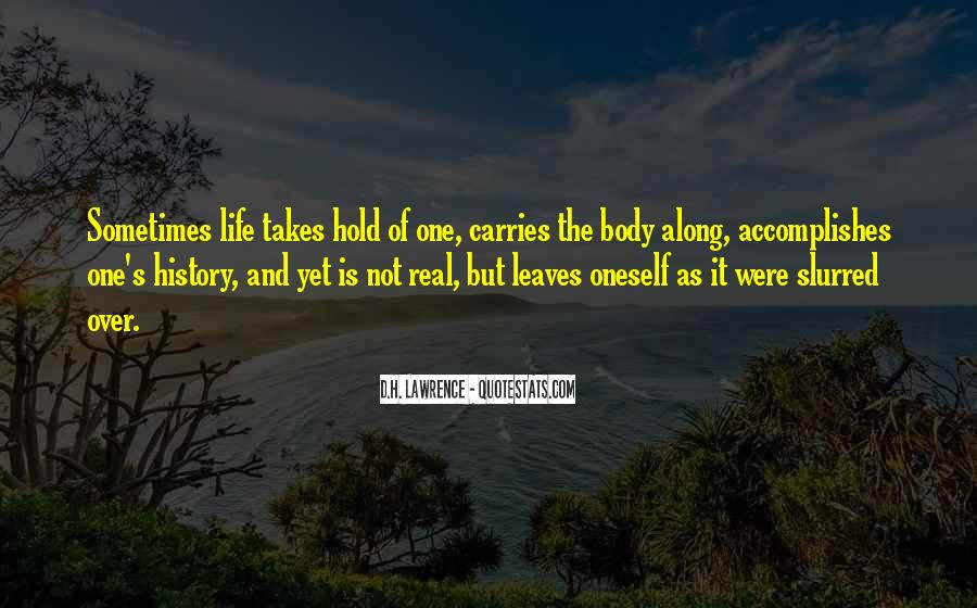 Quotes On Real Life Lessons #1506953