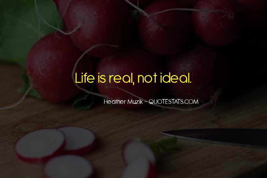 Quotes On Real Life Lessons #239409
