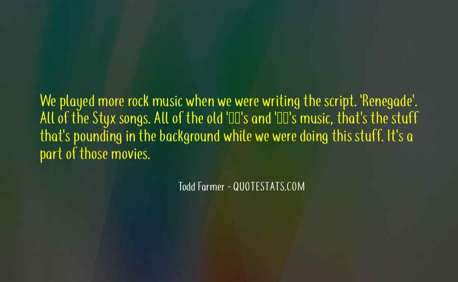 Quotes On Rock Song #181820
