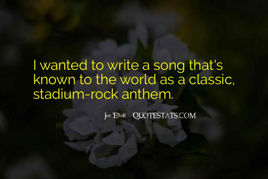 Quotes On Rock Song #382858
