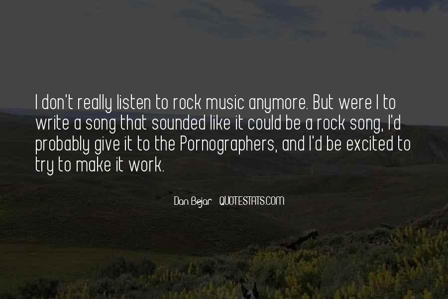 Quotes On Rock Song #386763