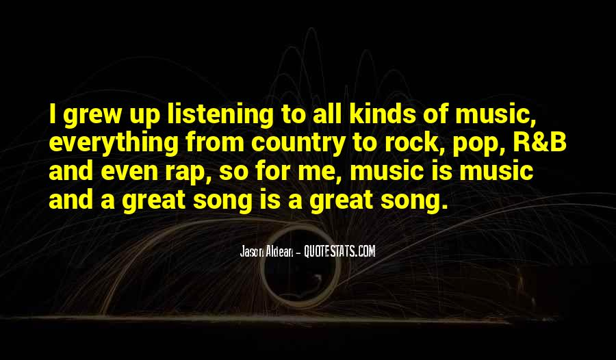 Quotes On Rock Song #730232