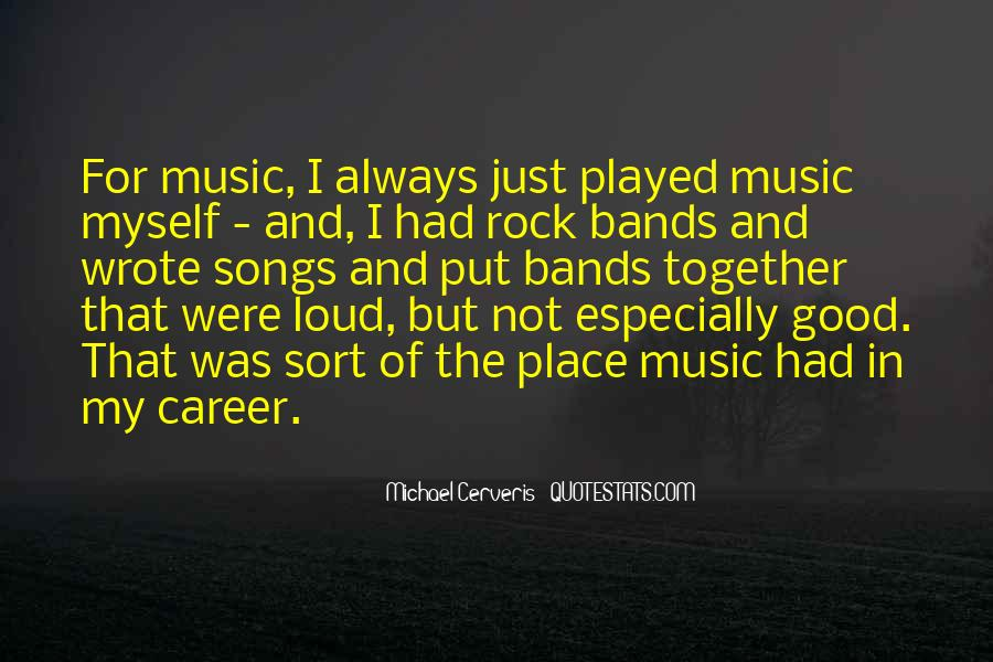 Quotes On Rock Song #916524