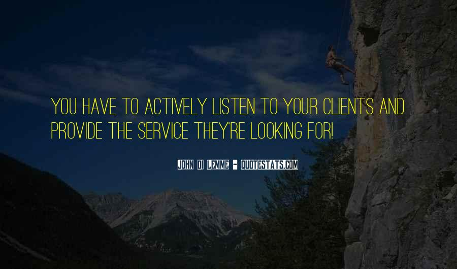 Quotes On Service Marketing #1120423