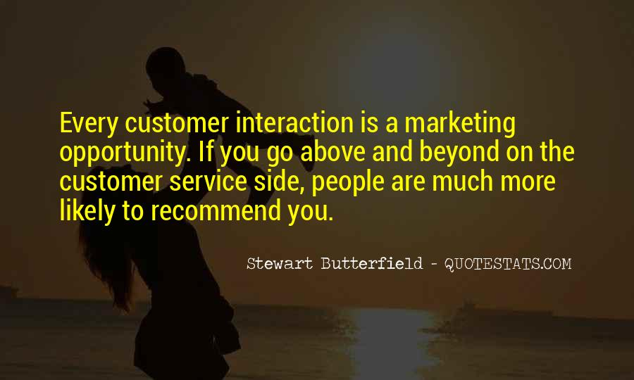 Quotes On Service Marketing #1784783