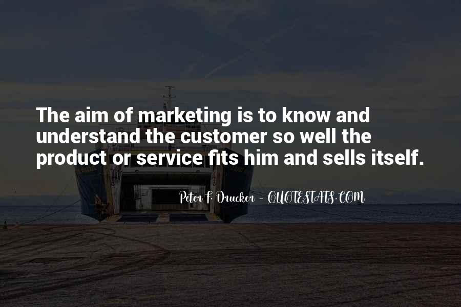 Quotes On Service Marketing #1823188