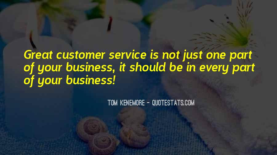 Quotes On Service Marketing #1862899