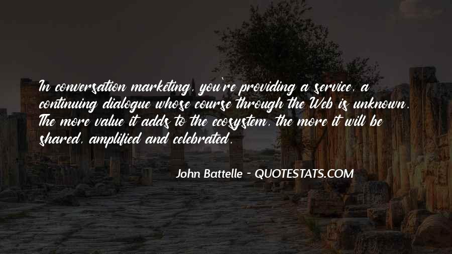 Quotes On Service Marketing #303542