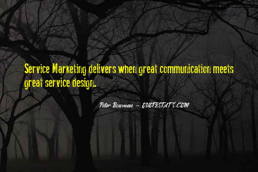 Quotes On Service Marketing #588539