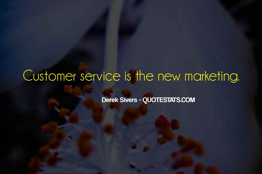 Quotes On Service Marketing #746605