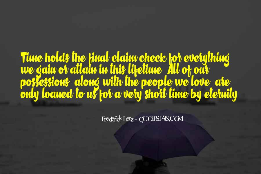 Quotes On Short Time Love #1016950