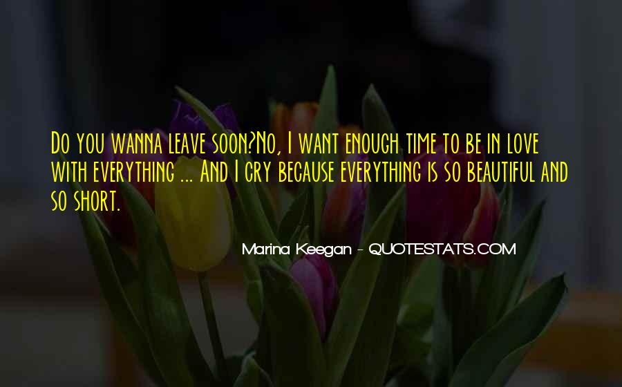 Quotes On Short Time Love #1047278