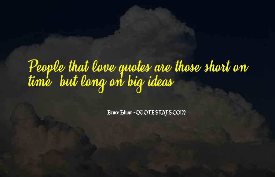 Quotes On Short Time Love #1061406