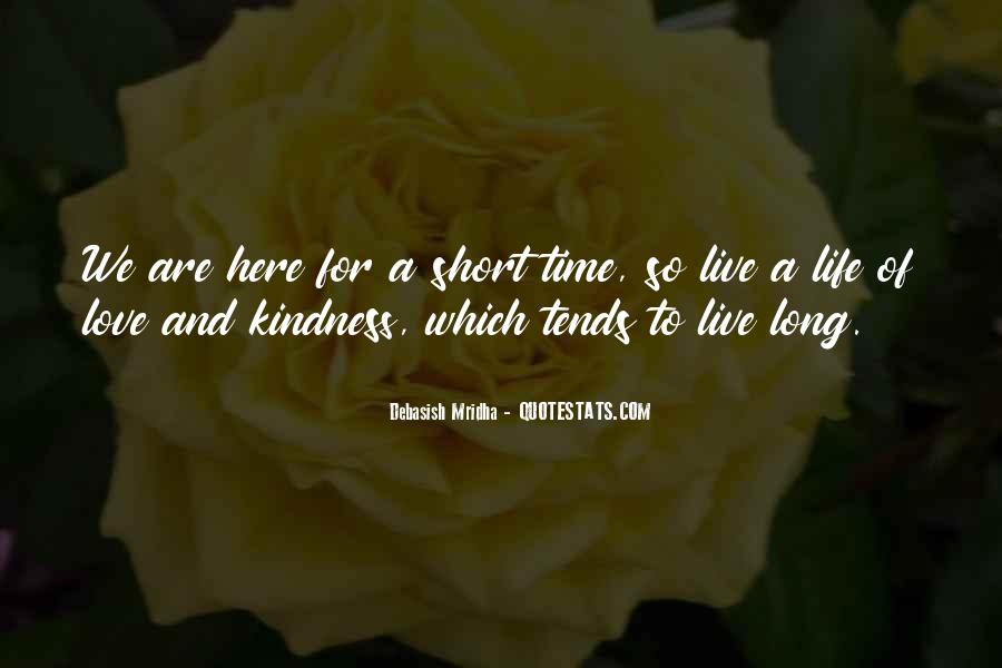 Quotes On Short Time Love #1114165