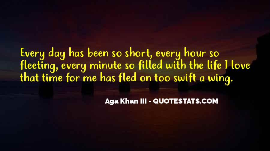 Quotes On Short Time Love #1161156