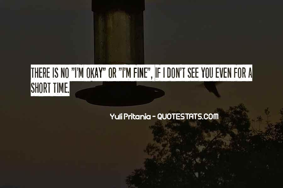 Quotes On Short Time Love #1249049