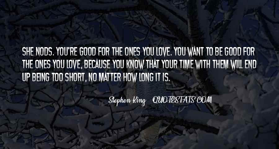 Quotes On Short Time Love #1281039
