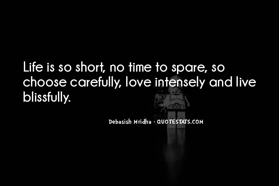 Quotes On Short Time Love #1376147