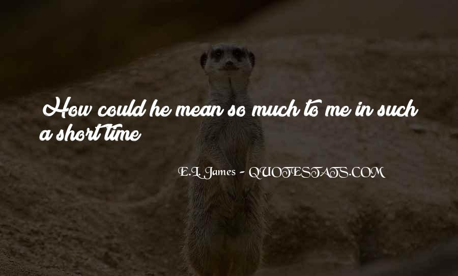 Quotes On Short Time Love #150875