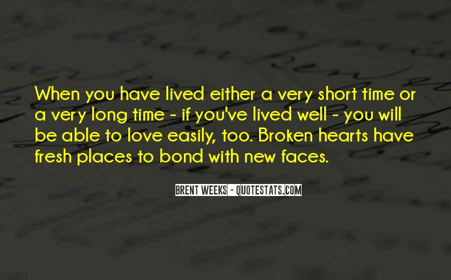 Quotes On Short Time Love #1762658