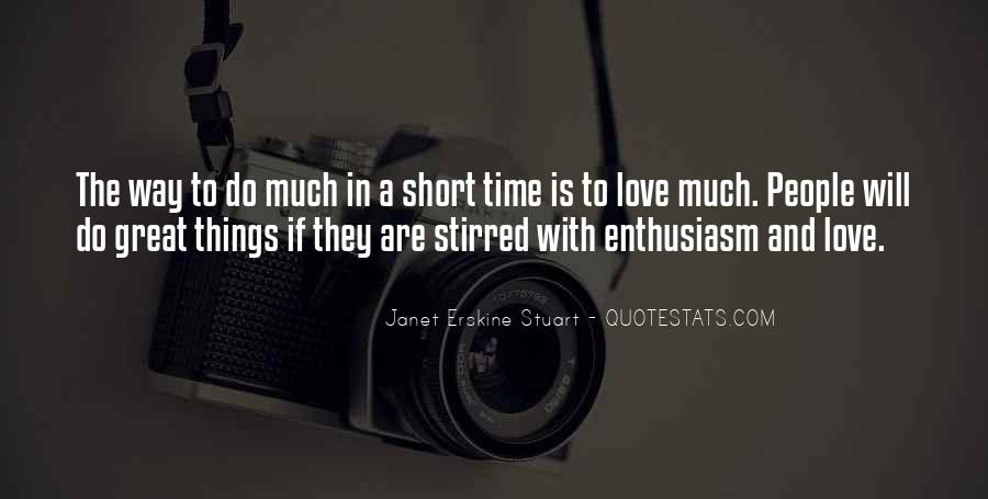Quotes On Short Time Love #1766361