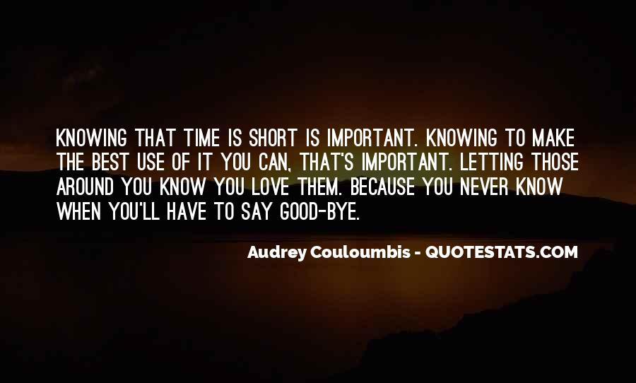 Quotes On Short Time Love #1772051