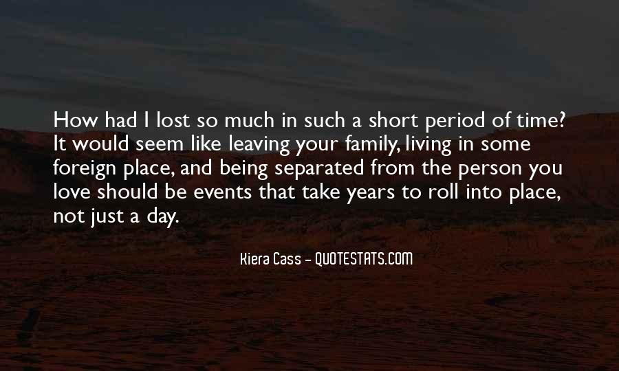 Quotes On Short Time Love #25359