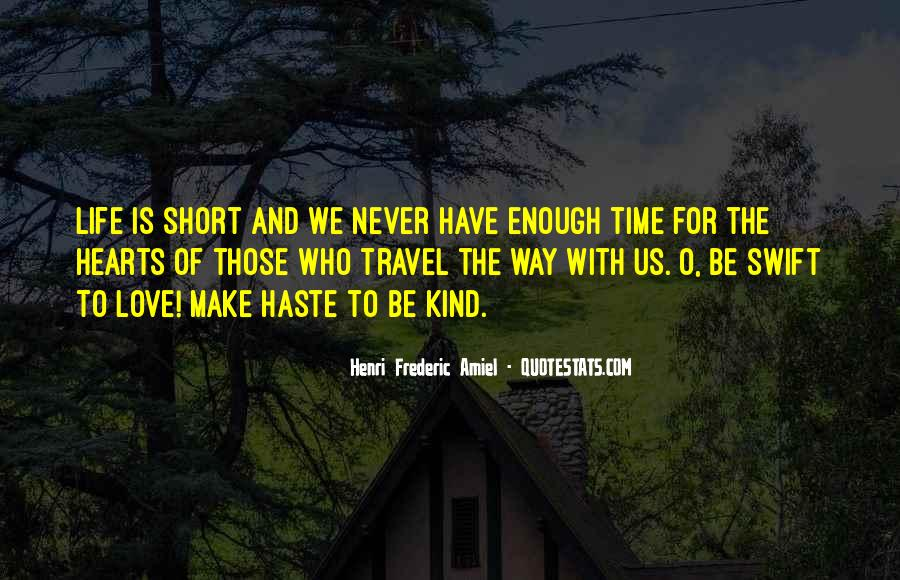 Quotes On Short Time Love #409604