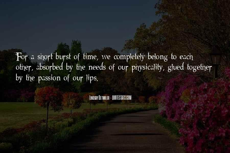 Quotes On Short Time Love #708797