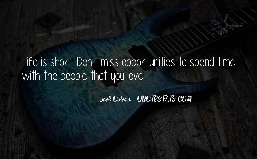 Quotes On Short Time Love #786239