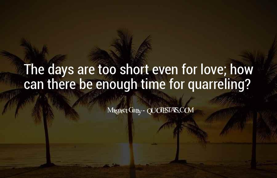 Quotes On Short Time Love #95803