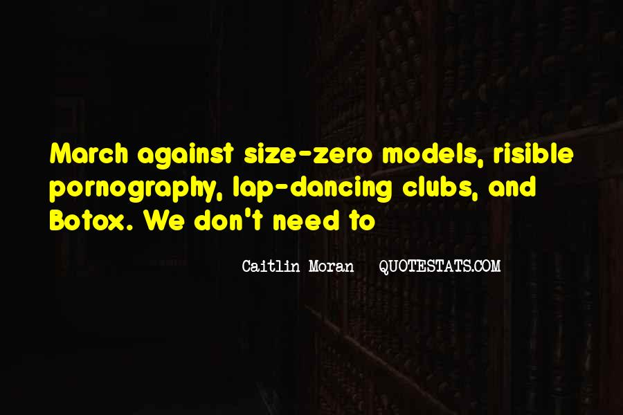 Quotes On Size Zero Models #1766202