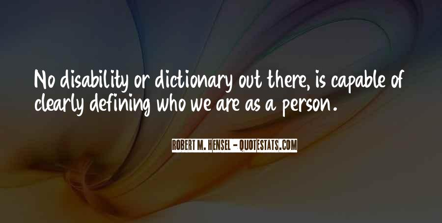Quotes On Specially Abled #803244