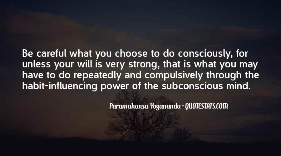 Quotes On Subconscious Mind Power #1584586